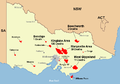 Feb 7 09 vic bushfires map.PNG
