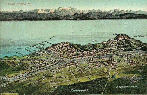 Felle Friedrichshafen Vogelschau