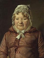 Portrait of the Mother of Captain von Stierle-Holzmeister