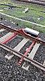 Ferngesteuerter Hemmschuh auf der Bahnlinie zum Vatikan.jpg