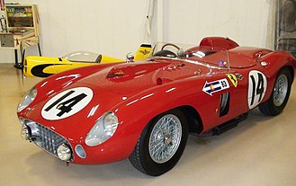 1957 World Sportscar Championship - Ferrari won the championship with its 290MM (pictured), 315S and 335S models