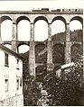 Ferrovia Porrettana Viadotto di Piteccio prima del 1900 Alinari.jpg