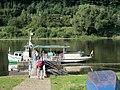 Ferry over the Elbe in Schmilka, just north of the Czech border. Sachsen, Germany. - panoramio.jpg