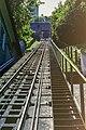 Festungsbahn Salzburg, Schienenstrecke Blick bergwärts-0391.jpg