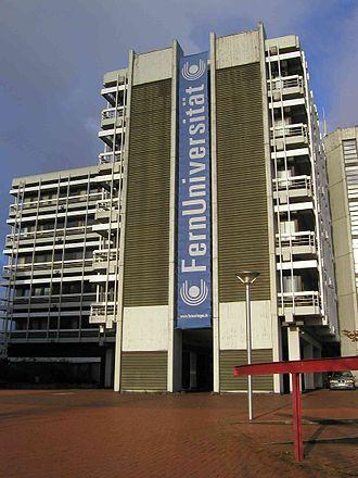 University of Hagen - One of FU Hagen's main buildings located in Hagen