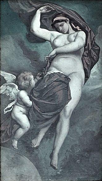 Gaia - Gaea, by Anselm Feuerbach (1875)