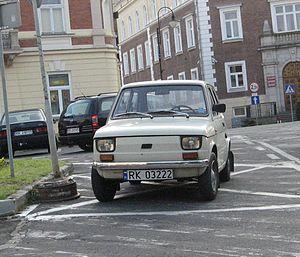 Fabryka Samochodów Małolitrażowych - Image: Fiat 126p Krosno 1