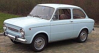 Fiat 850 - 1968 Fiat 850 Special