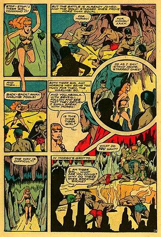 Matt Baker (artist) - Image: Fight Comics 40 page 6