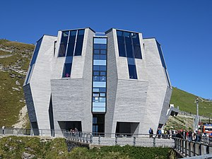 Monte Generoso - Image: Fiore di pietra (Mario Botta)