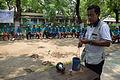 Fire-making - Survival Programme - Summer Camp - Nisana Foundation - Sibpur BE College Model High School - Howrah 2013-06-09 9673.JPG