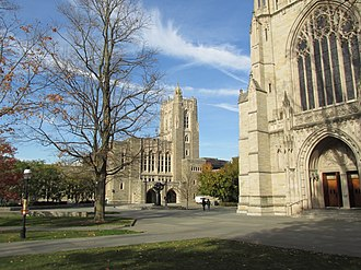 Princeton University Graduate School - The main library of Princeton University