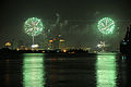 Fireworks over the New Orleans CBD from Algiers Point.jpg