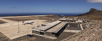 Saint Helena, Ascension and Tristan da Cunha - The airport of Saint Helena