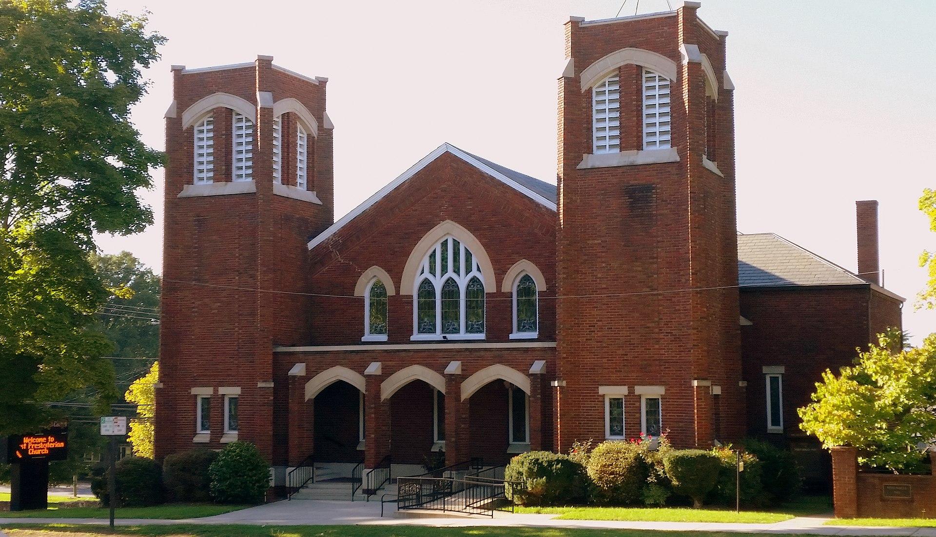 First Presbyterian Church Lincolnton North Carolina
