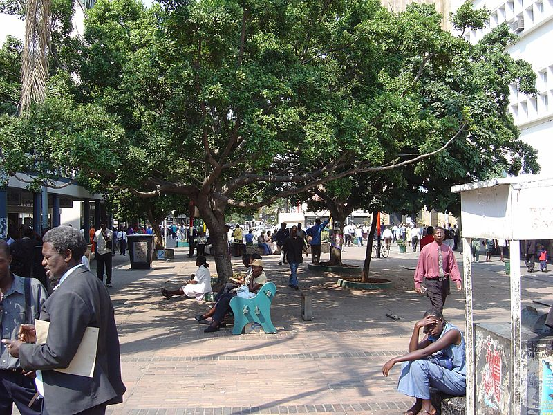 File:First Street, Harare, Zimbabwe 2.jpg