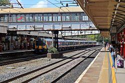 First TransPennine Express Class 350, 350409, Lancaster railway station (geograph 4499788).jpg