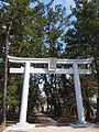 First torii gate of Kogota Yamanokamisha shrine.JPG