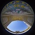 Fisheye lenses - Canon- Vakil Mosque -shiraz-Iran 03 عکس از ایوان اصلی مسجد وکیل شیراز (cropped).jpg