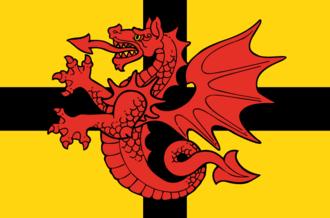 Trégor - Flag of Tregor (Brittany)