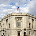 Flag at half-staff over Senate Russell bldg. Remembering Sen. Arlen -Specter. (8091544337).jpg