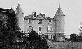 The château in Fleurieux-sur-l'Arbresle, at the beginning of the 20th century