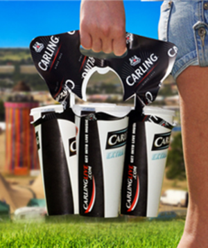 Christopher Eves - Flexicarry™ is the only flexible multi-cup carrier in the world, which can conveniently and safely carry and share 1, 2, 3 or 4 drinks with one-hand without spilling.