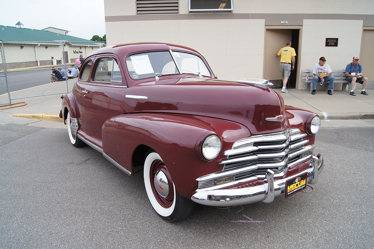 Coupe 1948 chevy stylemaster coupe for sale : Chevrolet Stylemaster - Wikipedia