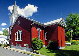 Mifflinburg, Pennsylvania - First Presbyterian Church