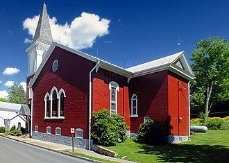 Mifflinburg, Pennsylvania - First Presbyterian Church