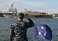 Flickr - Official U.S. Navy Imagery - Vice Admiral salutes USS Fort Worth..jpg