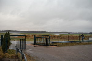 RAF Ahlhorn - A number of solar panels are now visible on the site