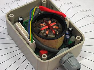Fluxgate compass - A fluxgate inclinometer/compass
