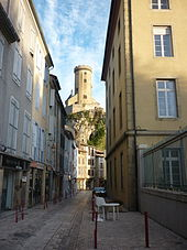 "The ""old city"", Foix"