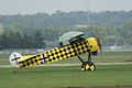 Fokker D.VIII Lt See Gotthard Sachsenberg Landing Taxi 03 Dawn Patrol NMUSAF 26Sept09 (14413338979).jpg