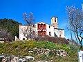 Font Rubí, cal Fàbregues i campanar de l'església de Sant Pere i Sant Feliu - panoramio.jpg