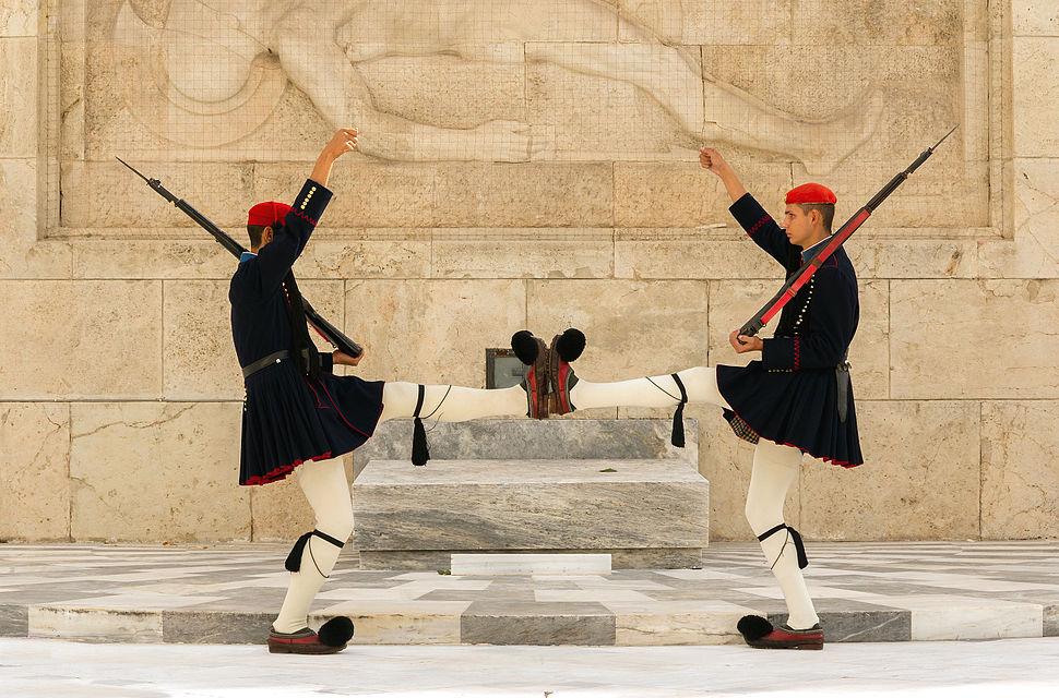 Foot foot Evzones Athens