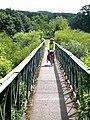 Footbridge at Bardon Mill - geograph.org.uk - 847002.jpg