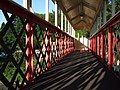 Footbridge at Torre Station - geograph.org.uk - 451184.jpg