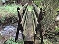 Footbridge over the Penarth Brook - geograph.org.uk - 504427.jpg