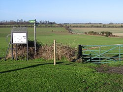 Footpath and fields - geograph.org.uk - 652151.jpg