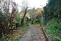Footpath between St Michael's Rd and Newlands Rd. - geograph.org.uk - 1047065.jpg
