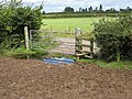 Footpath junction near Rundlesshill - geograph.org.uk - 926834.jpg