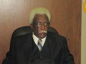 Joe Cornelius Sr. - Cornelius on his last day as mayor