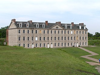 Fort Wayne (Detroit) - Original barracks at Fort Wayne