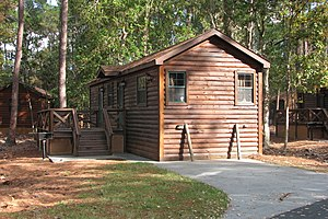 Disney's Fort Wilderness Resort & Campground - Image: Fort Wilderness cabin