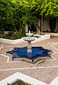 Fountain courtyard current mosque Granada Spain.jpg