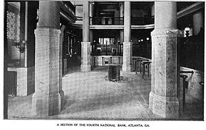 Andrew Young School of Policy Studies - Image: Fourth national bank building interior