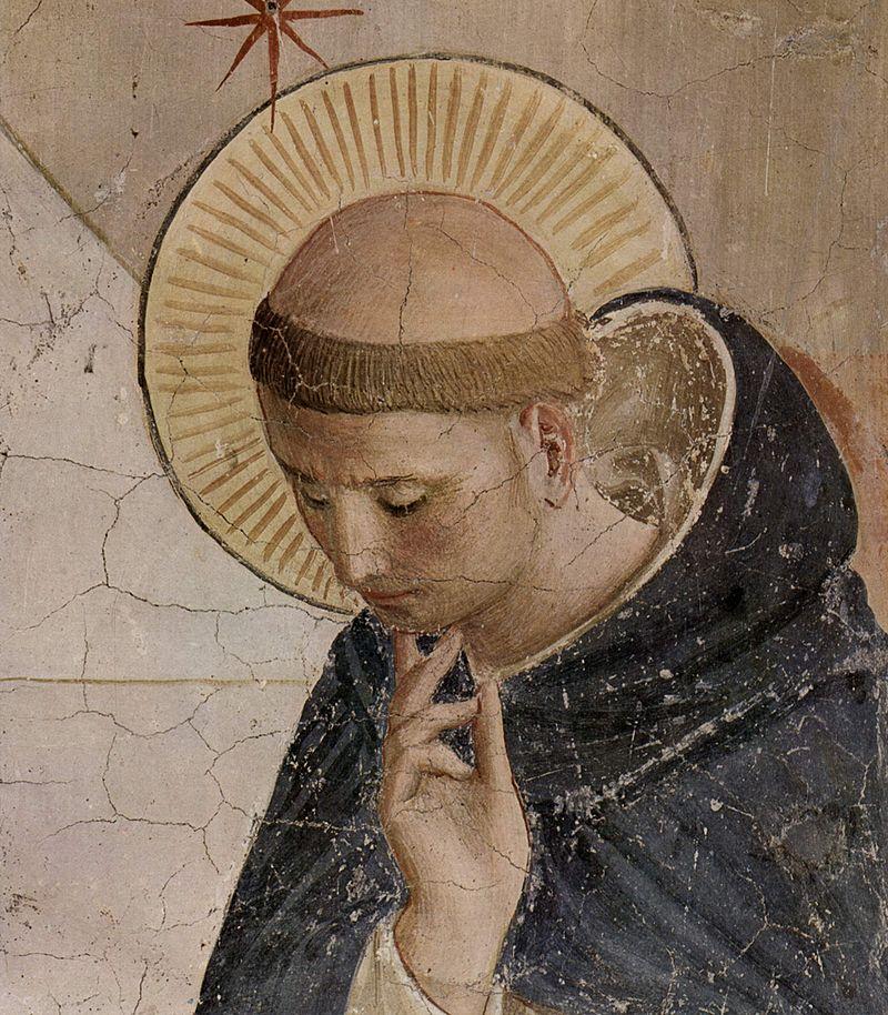 Santo Domingo de Guzmán por Fra Angelico