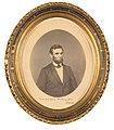 Framed, inscribed photograph of Abraham Lincoln.jpg